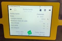 Panel bomba geotérmica_ Puritermia ISBRAN en Llardecans