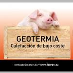ISBRAN geotermia calefacción bajo coste