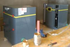 Instalación bombas _ Puritermia ISBRAN en Llardecans
